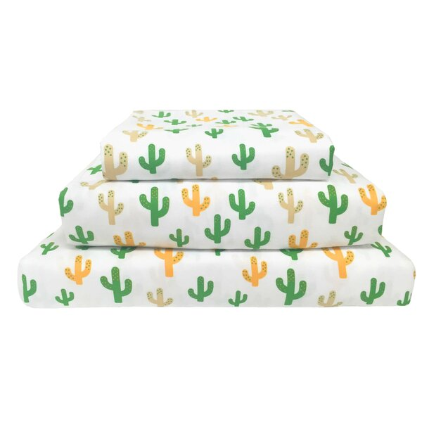 Wild West 120 Thread Count 100% Polyester 3 Piece Sheet Set by Beco Home
